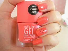 love from lisa nails of the week nails inc gel effect polish