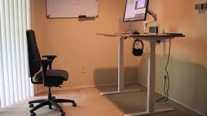 Fitbit Standing Desk Autonomous Standing Desk Youtube