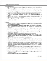 sample qa analyst resume sample business analyst resume banking domain virtren com resume template for business analyst resume examples 2017