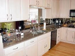 kitchen antiqued mirrored kitchen backsplash glass mirror