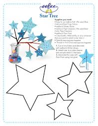 Diy Easy Star Tree Template And Instructions Be Crafty With