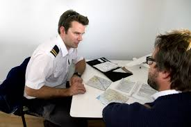 Student At Desk by Commercial Pilot Licence Diploma Of Aviation Course