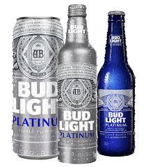 Alcohol In Bud Light Bud Light Platinum Beers New Look Beverage Industry Pinterest