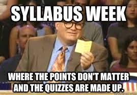 Meme Of The Week - syllabus week 10 back to school memes cus riot
