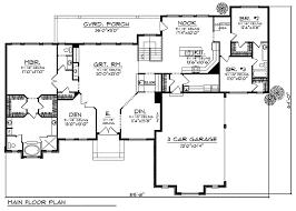 mediterranean ranch home plan 89311ah architectural designs
