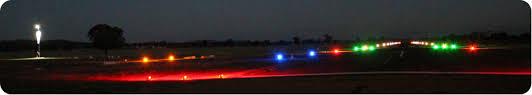Solar Powered Runway Lights by Airfield Lighting Solar Powered Runway Lights Pilot Activated