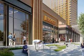 Trump Apartments Trump Village Shopping Center Redevelopment Takes Off In Coney