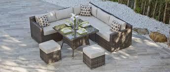 rattan corner sofa aura 11 rattan corner sofa and dining combo all sofa dining