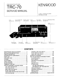kenwood trc70 service manual immediate download