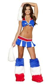Dallas Cowboys Cheerleaders Halloween Costume Cheap American Cheerleader Costume American Cheerleader