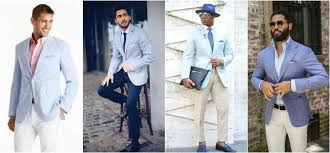 light blue pants mens how to wear a coloured blazer the idle man