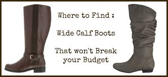 womens boots wide calf sale where to find wide calf boots that the budget