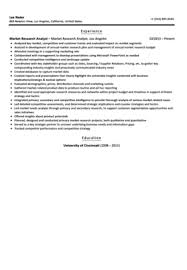 Sample Resume For Research Analyst by Market Research Analyst Resume Sample Velvet Jobs