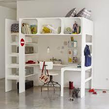 loft beds with desk mommo design