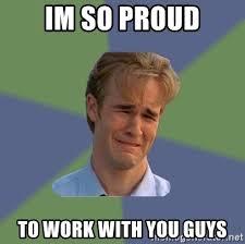 Proud Of You Meme - im so proud meme mne vse pohuj