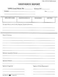 workplace investigation report template grievance form template grievance report template 33 hr file grievance report jpg wikipedia
