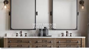 bathroom cabinets pivot bathroom mirror narrow mirror bathroom