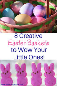 wooden easter baskets 8 creative easter baskets to wow your ones spending to save