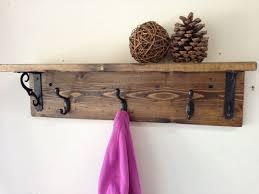 wall mount coat rack with shelf kreyol essence