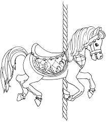 christmas carousel horse stitcheries pinterest