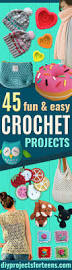 Diy Projects For Teenage Girls Room by 45 Fun And Easy Crochet Projects Diy Projects For Teens