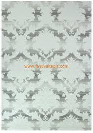 Salon Baroque Pas Cher by Tapis De Salon Baroque Blanc Gris Clair En Acrylique Hema 3