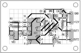layout pcb inverter dc to ac inverter with mosfet