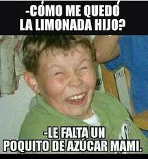 Funny Spanish Meme - solo un poquito de azúcar mami disney pinterest memes humor