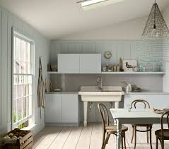 delightful french kitchen design with crown molding frame and