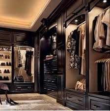 dark wood walk in closet for the home pinterest dark wood