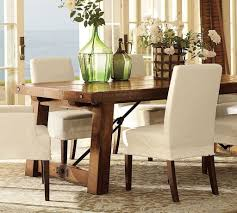 Rustic Dining Room Lighting by Rustic Dining Table Centerpiece Mocha Stained Teak Wood Backrest