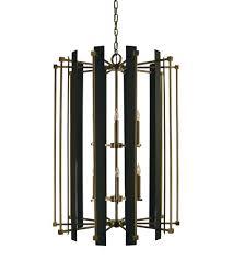 Chandelier Antique Brass Framburg 4806ab Mblack Louvre 12 Light 32 Inch Antique Brass With