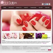 nail salon website template virtren com