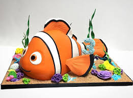 3d cake small and simple nemo cake follow us on instagram and