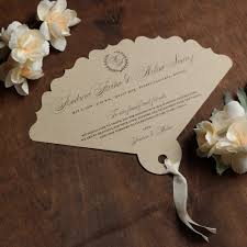 Fan Programs For Weddings Laser Cut Fan Wedding Programs Custom Wedding Programs Fan