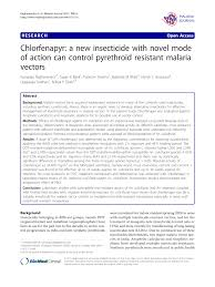 chlorfenapyr a new insecticide with novel mode of action can