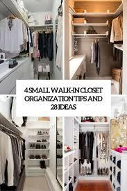 Small Closet Organizers by Best 10 Walk In Closet Organization Ideas Ideas On Pinterest