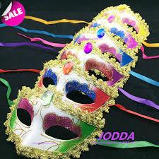rhinestone mardi gras mask 2016 fashion mask gold shining plated party mask wedding props