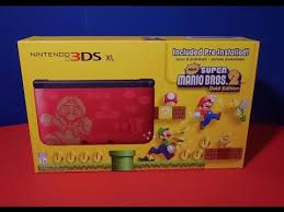 new 3ds xl black friday nintendo 3ds xl super mario bros 2 gold edition wal mart black