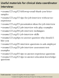 Sample Project Coordinator Resume by Top 8 Clinical Data Coordinator Resume Samples