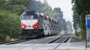 all on caltrain as electric environmental report
