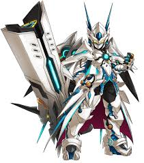 cybuster tactical trooper berserk mode from elsword mmo elsword