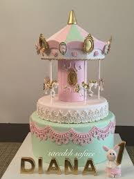 484 best carousel cakes images on pinterest carousel cake baby