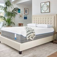 Ergo Bed Frame Tempur Pedic Cloud Supreme 11 Plush Memory Foam Mattress