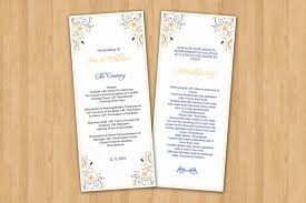 invitation design programs wedding ceremony program template creativework247 invitation