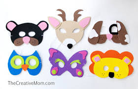 masks for kids easy animal masks eighteen25