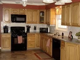 Kitchen Design With Black Appliances Beige Wood Bar Stool Kitchen Design Black Appliances Sleek Brown