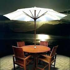 solar powered umbrella lights led patio umbrella lights ideas solar or outdoor light type powered