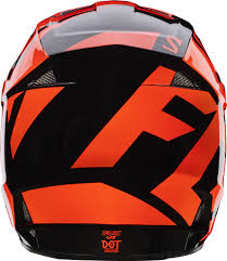 orange motocross helmet fox 2017 v1 race motocross helmet orange manchester xtreme