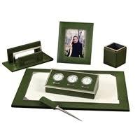 desk sets legal trays leather desk sets u0026 notepads at scully
